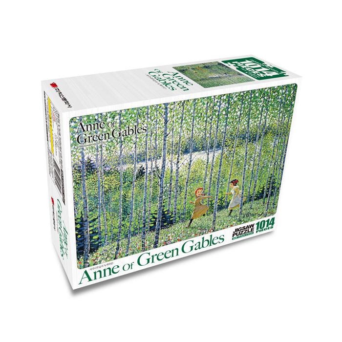 [현재분류명],빨강머리앤 퍼즐 1014P_자작나무숲의 녹색바람,퍼즐,직소퍼즐,퍼즐액자,퍼즐만들기,직쏘퍼즐