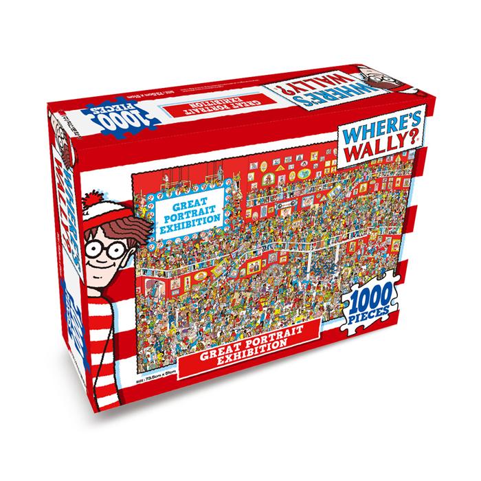 [현재분류명],월리를 찾아라 퍼즐 1000P_초상화 전시회,퍼즐,직소퍼즐,퍼즐액자,퍼즐만들기,직쏘퍼즐