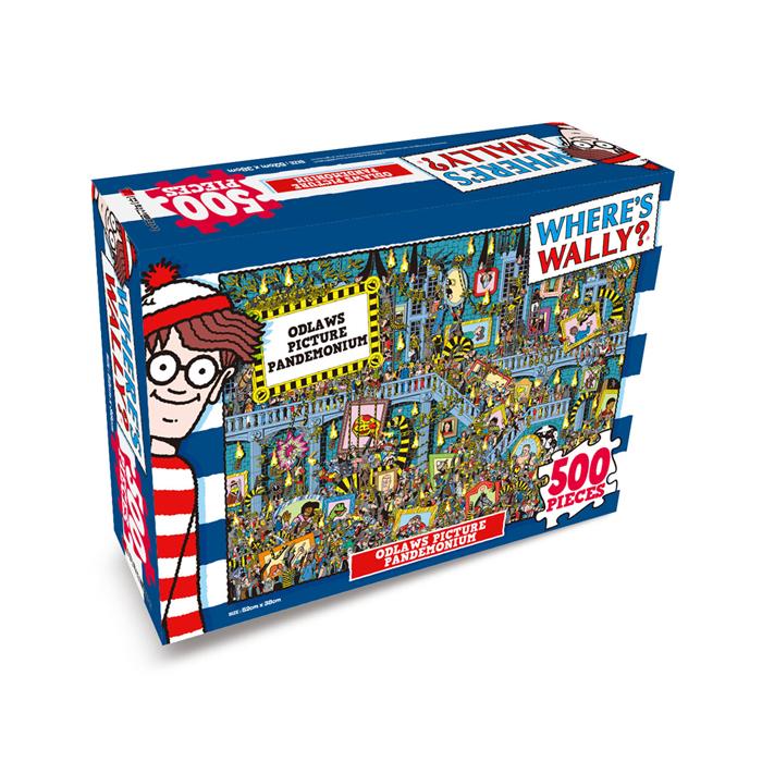 [현재분류명],월리를 찾아라 퍼즐 500P_오들로의 상상속 대혼란,퍼즐,직소퍼즐,퍼즐액자,퍼즐만들기,직쏘퍼즐
