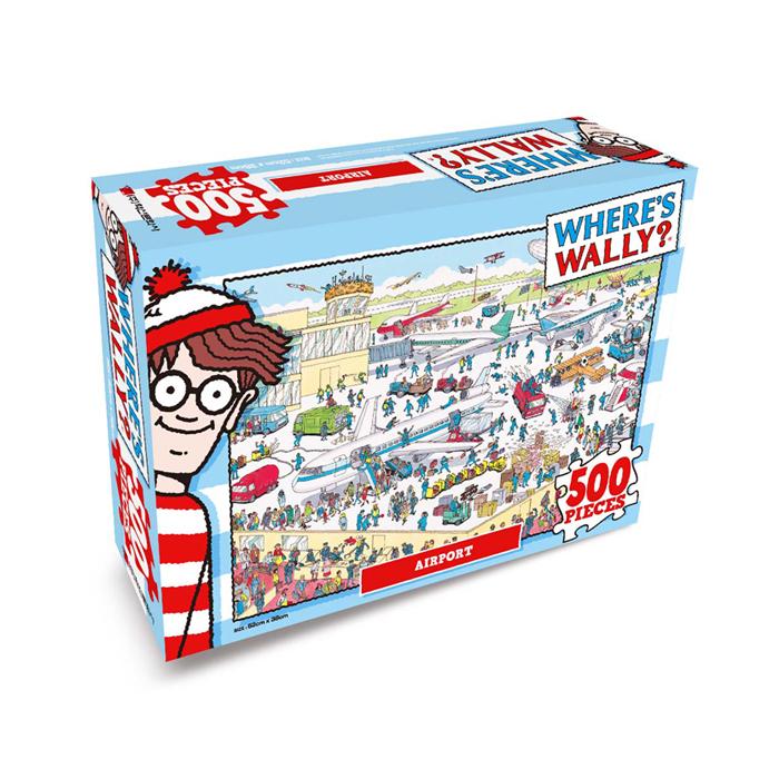 [현재분류명],월리를 찾아라 직소퍼즐 500P 어수선한 공항,퍼즐,직소퍼즐,퍼즐액자,퍼즐만들기,직쏘퍼즐
