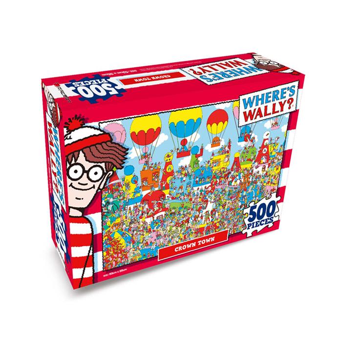 [현재분류명],월리를 찾아라 직소퍼즐 500P 알록달록 삐에로마을,퍼즐,직소퍼즐,퍼즐액자,퍼즐만들기,직쏘퍼즐